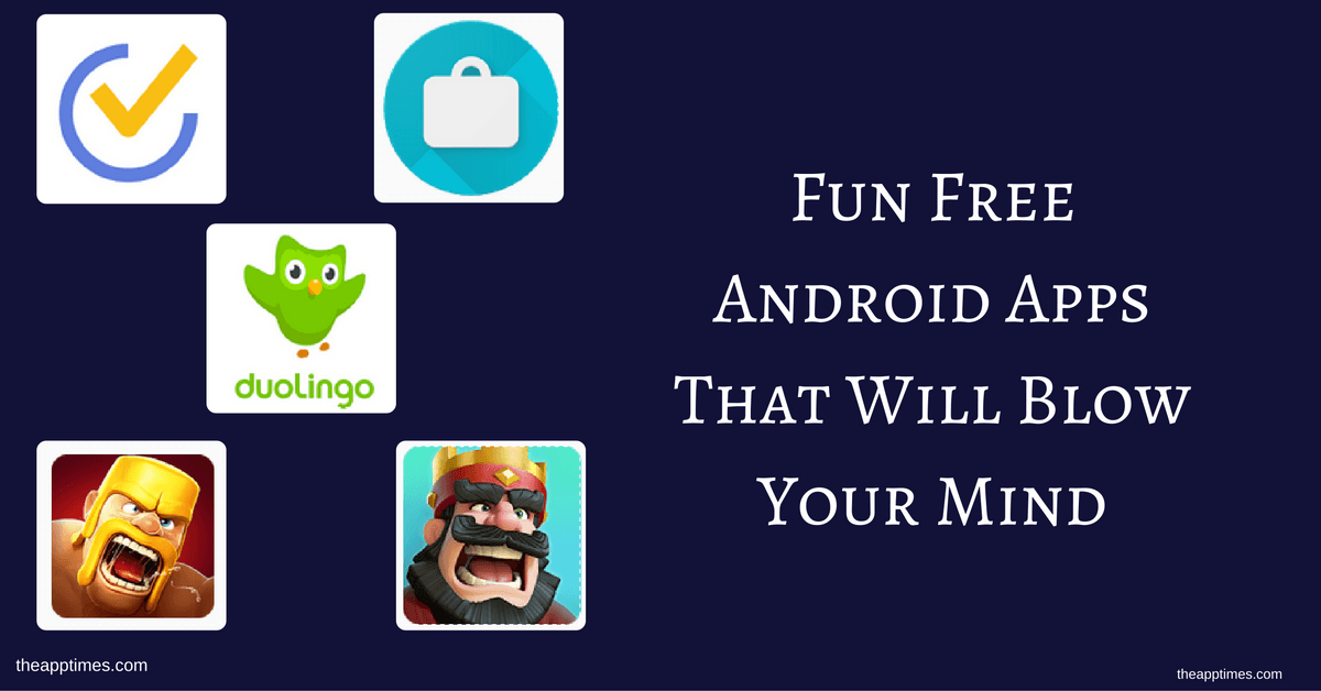 funnest free apps for android