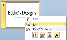 Add Slides to a PowerPoint 2010 Presentation