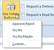 How to Add Voting Buttons in Outlook