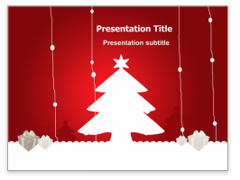 Christmas Themed PowerPoint Presentation