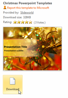 Christmas Themed PowerPoint Presentations