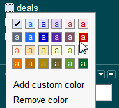 gmail - add a label color