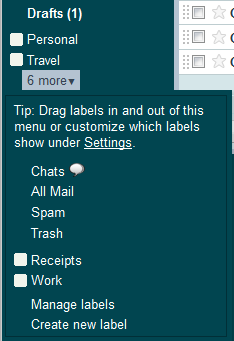 Organize your Gmail Messages Using Labels