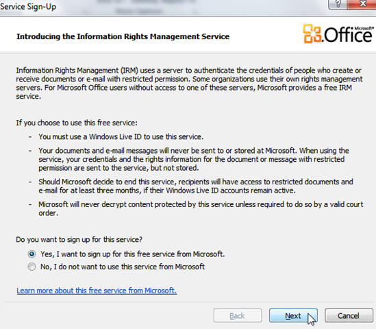 Outlook 2010: Prevent Users from Forwarding Email Messages