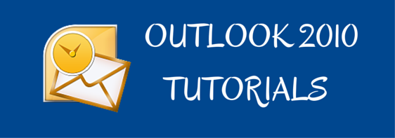 outlook 2010 tutorials