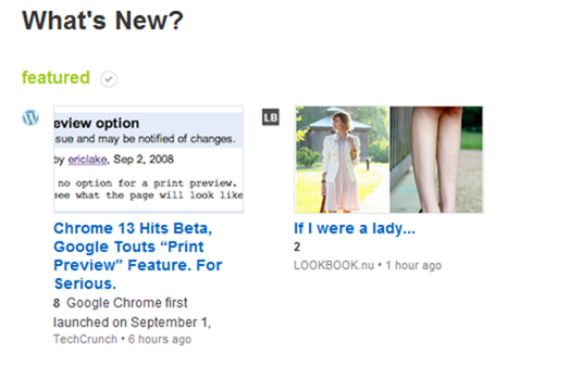 Feedly Whats New