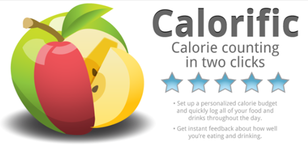 Calorific Lets You Track Your Daily Calories