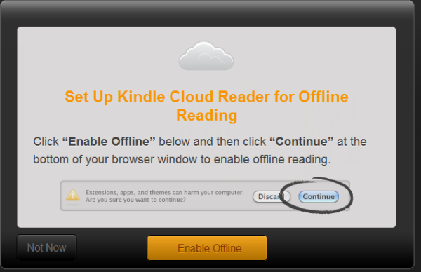 Install Kindle Cloud Reader