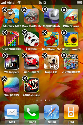 iphone how to create a new folder