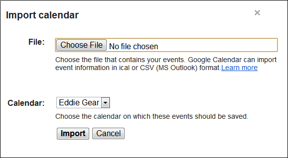 How to Import a Hotmail Calendar to Google Calendar