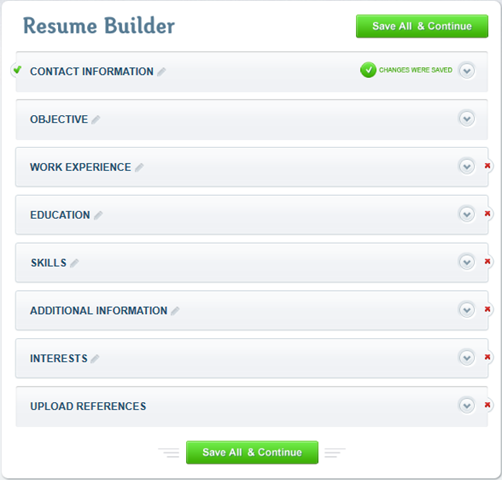 Create a Professional Resume in Minutes with ResumeBaking