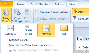 how to read email messages without opening them