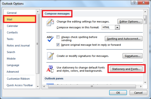 How to Customize Email Messages in Outlook 2010