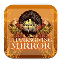 thanksgiving mirror
