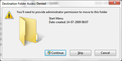 access denied folder