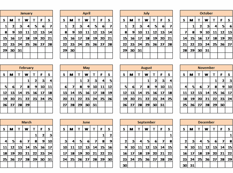 Office Calendar Download : Download these excel calendars for from microsoft office