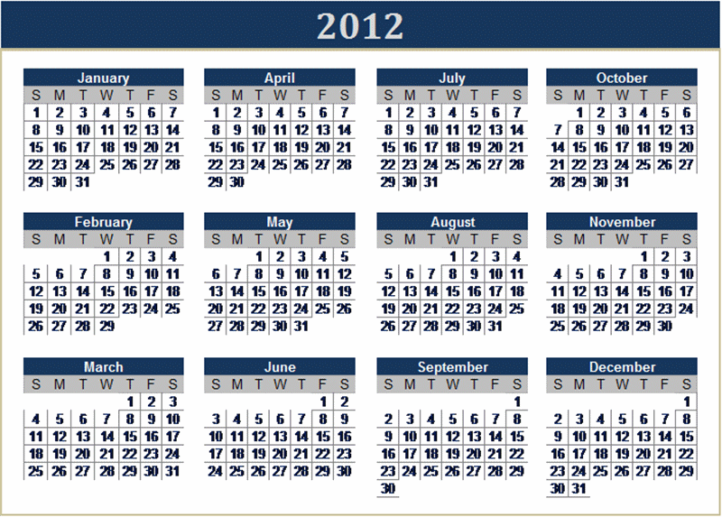 Calendar Ksa : Download these excel calendars for from microsoft office