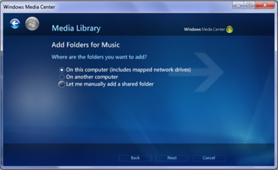add folders for music