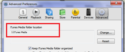advanced itunes preferences