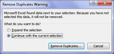 how to find duplicate entries in excel 2010 column