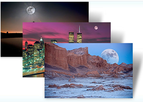 moonlight theme - Windows 7 Themes with Magical Hues