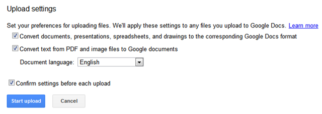 How to Convert Text from a Scanned Document using Google Docs