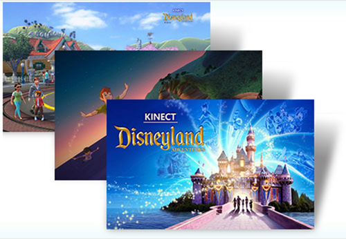 Kinect Disneyland Adventures theme
