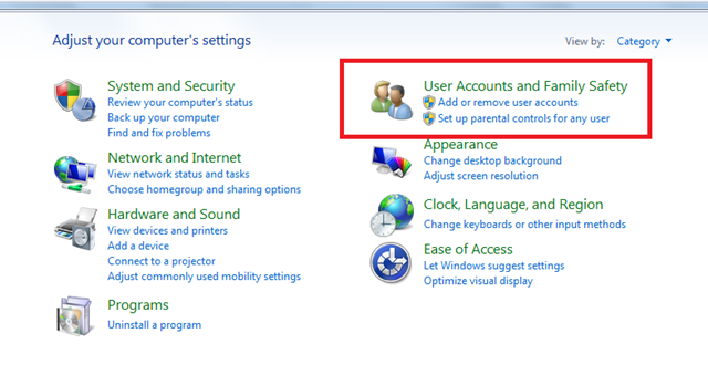 How to Manage User Accounts in Windows 7
