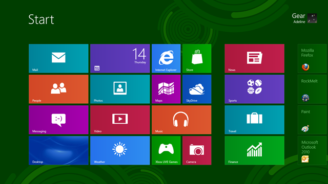 A Look at Windows 8 Release Preview : First Thoughts
