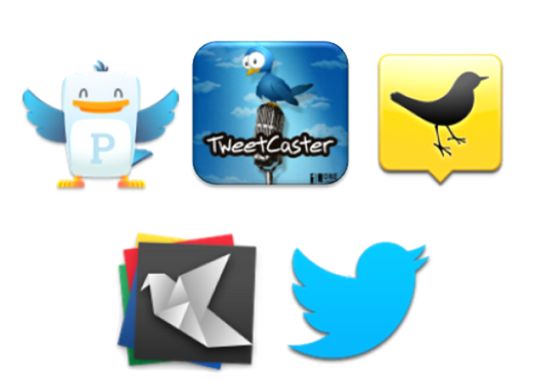 Five Best Twitter Apps for the Android