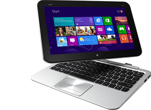 Windows 8 tablets - HP ENVY x2