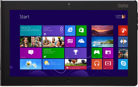 Windows 8 tablets - Lenovo ThinkPad Tablet 2