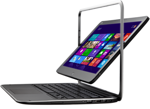 Windows 8 tablets - dell xps duo 12