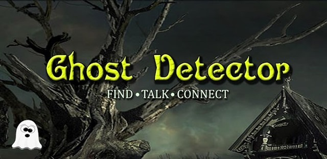 spooky Halloween Android apps  - ghost detector
