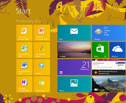 How to Create Groups on Windows 8 Start Screen
