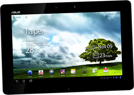 asus ee transformer - Best Android Tablets for 2012