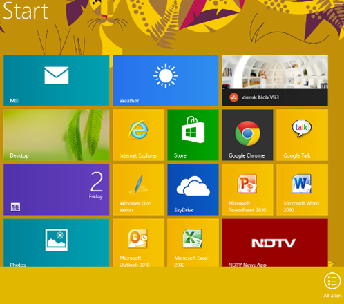 how to personalize windows 8 start screen  - pin apps