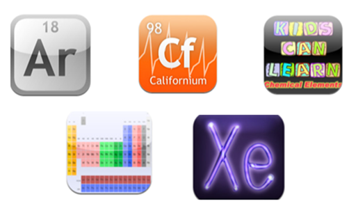 iPad Apps to Learn the Periodic Table