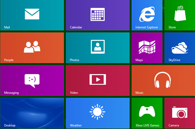 new features in Windows 8