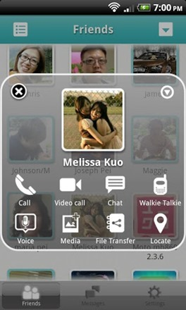 AireTalk screenshot