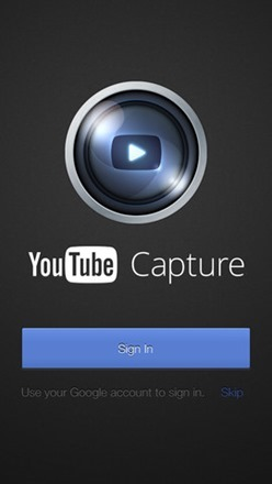 Google Launches YouTube Video Camera App for iOS