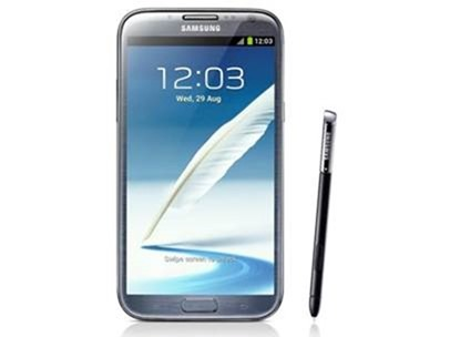galaxy note 2 - best samsung phones 2012