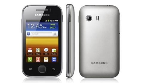 galaxy y - best samsung phones 2012