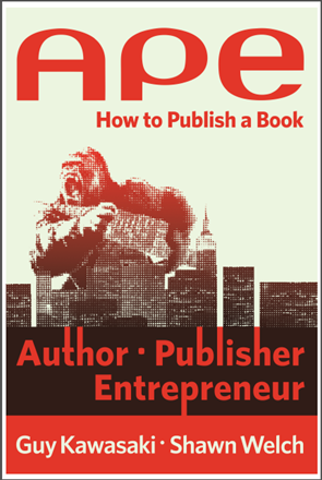 how to publish a book - APE
