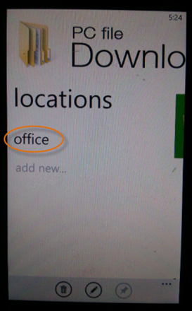 pc-file-download-tap-host - how to transfer files to windows phone