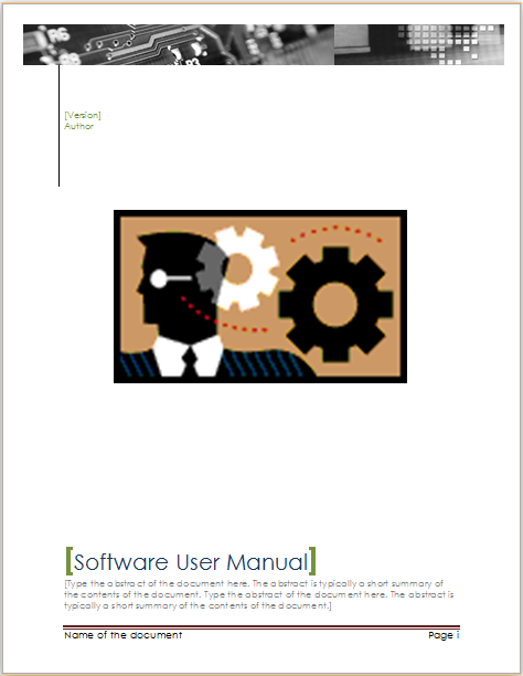 Free User Guide Template