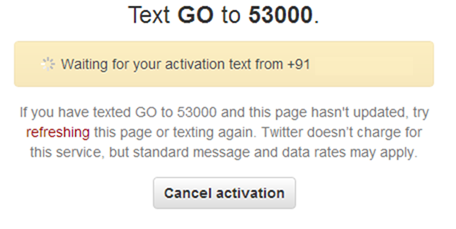 How to Receive SMS Alerts from Specific Twitter Users
