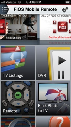 Verizon FiOS Mobile Remote