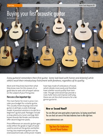 guitar coach magazine screenshot 3