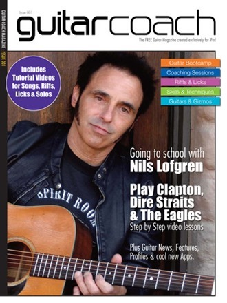guitar coach magazine screenshot